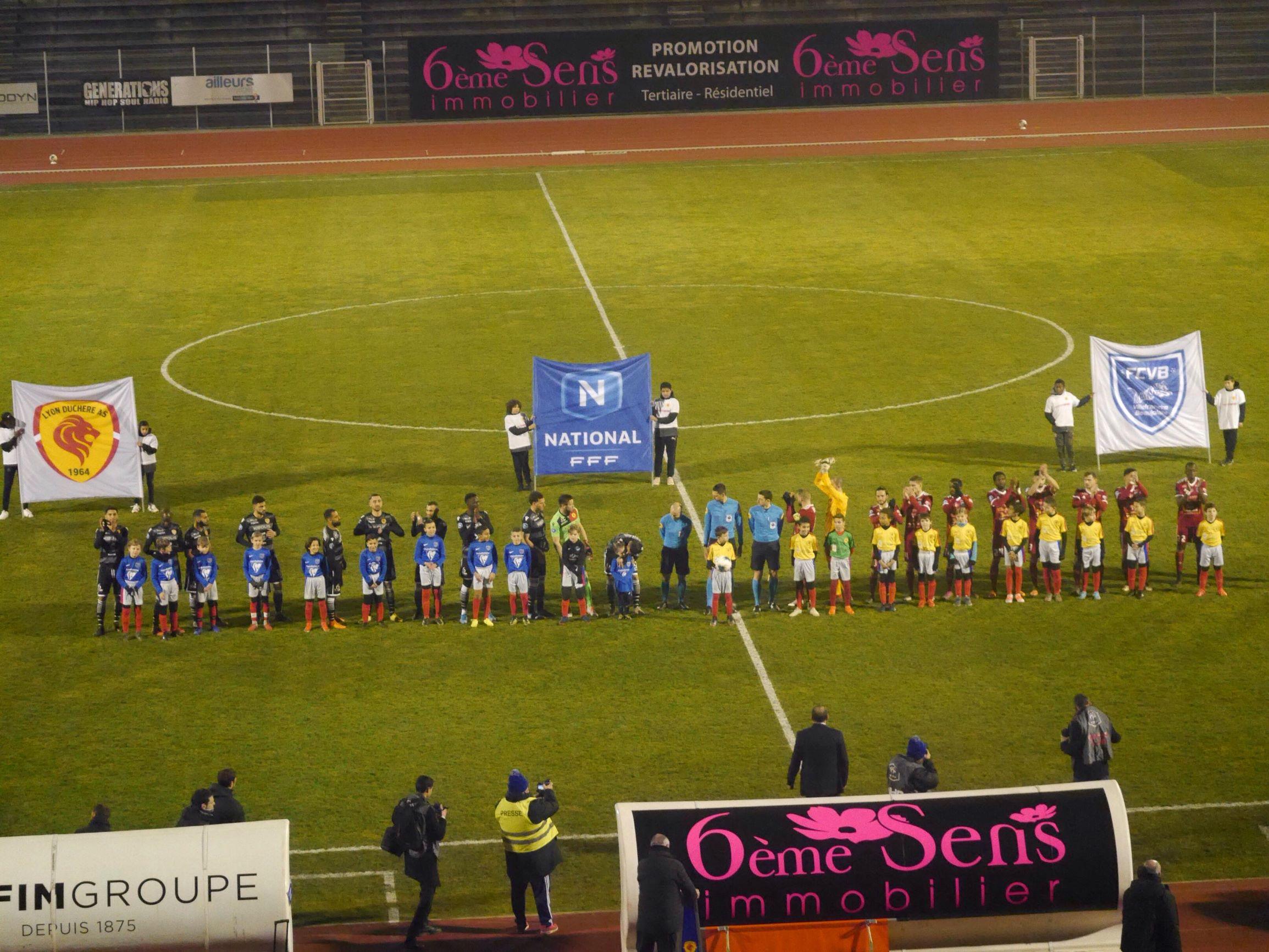 Villefranche et Lyon-Duchère AS se neutralisent