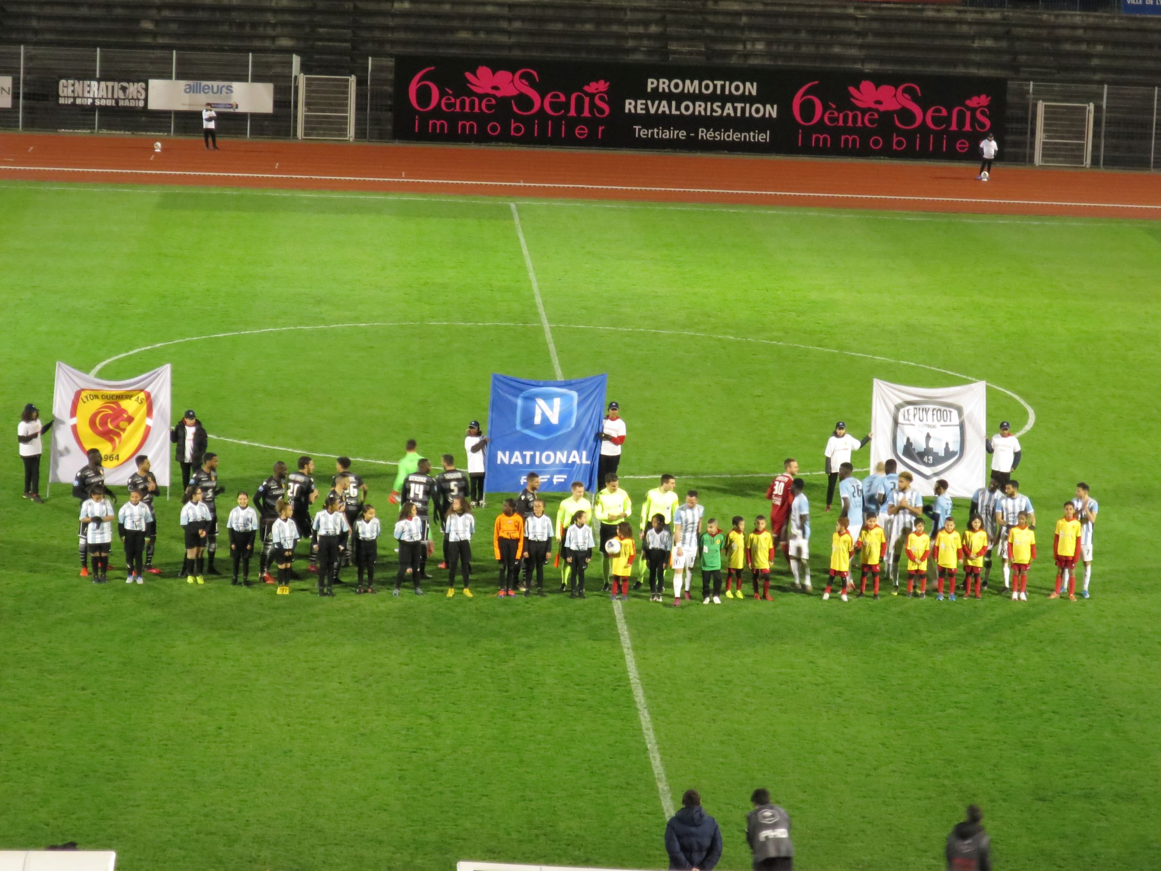 Lyon-Duchère  voit s'éloigner le podium