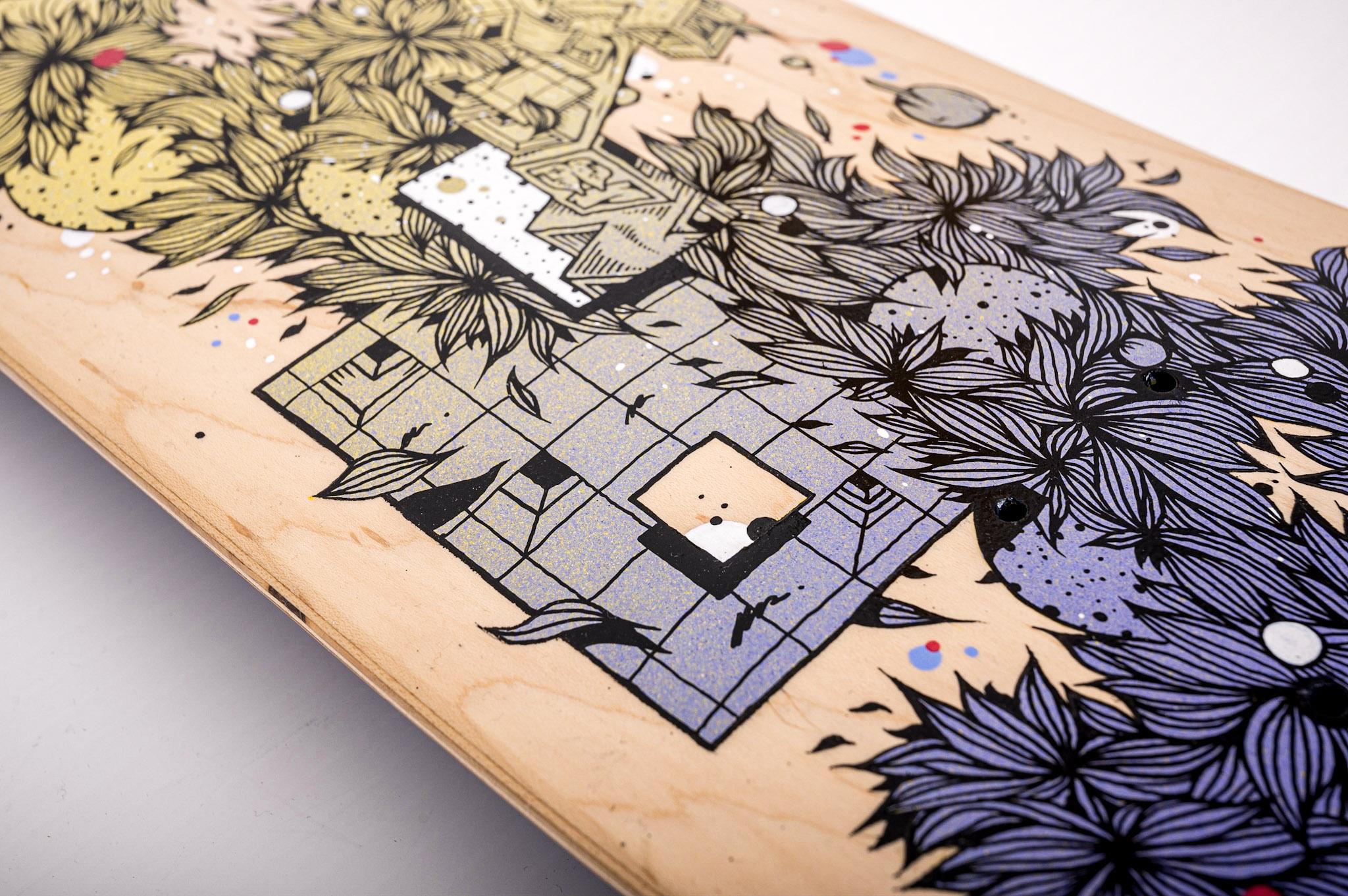 Se cultiver à la maison : l'exposition Spraying Board