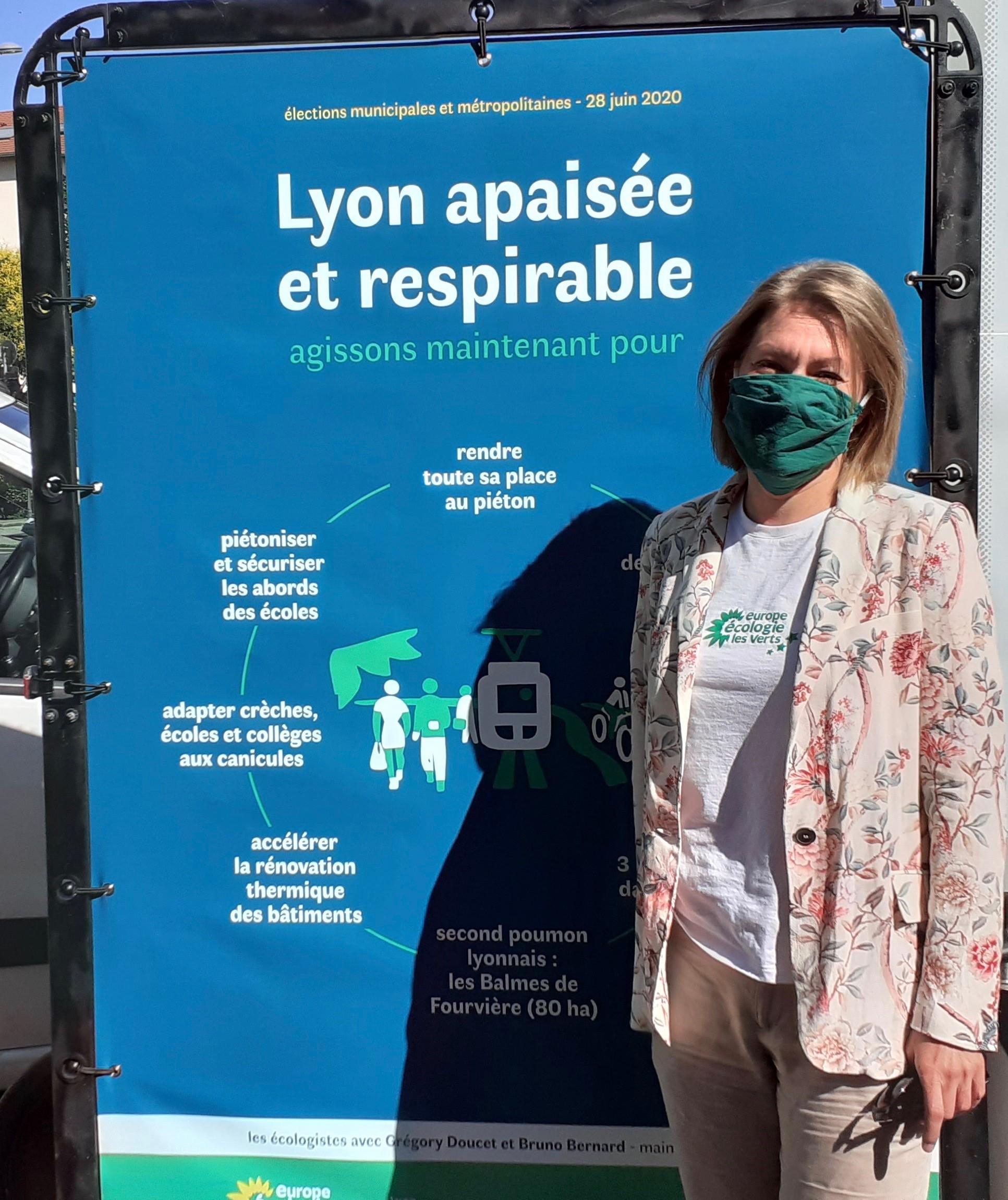 [Interview] Municipales 2020 : Nadine Georgel « Notre programme n'est pas qu'idéologique c'est une réponse face à la crise »