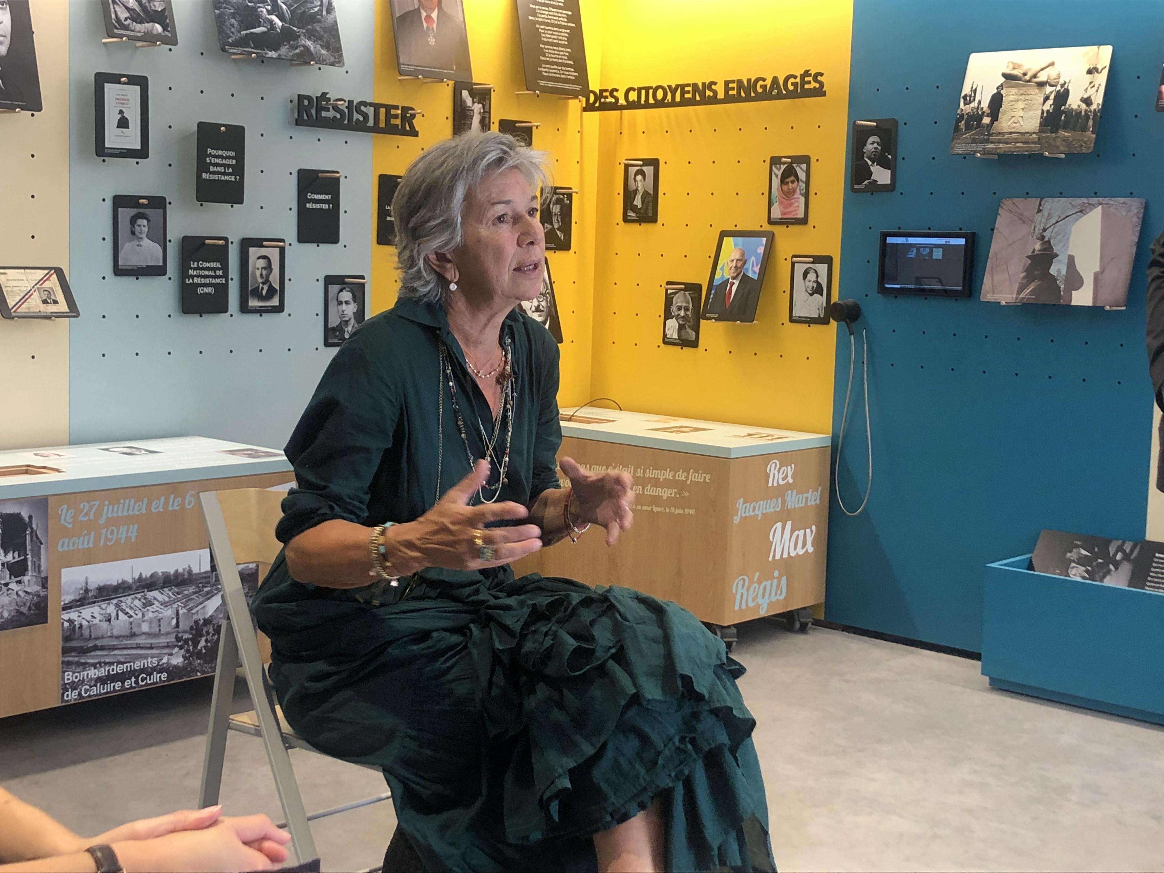 Florence Verney-Carron est au chevet des acteurs culturels de la région
