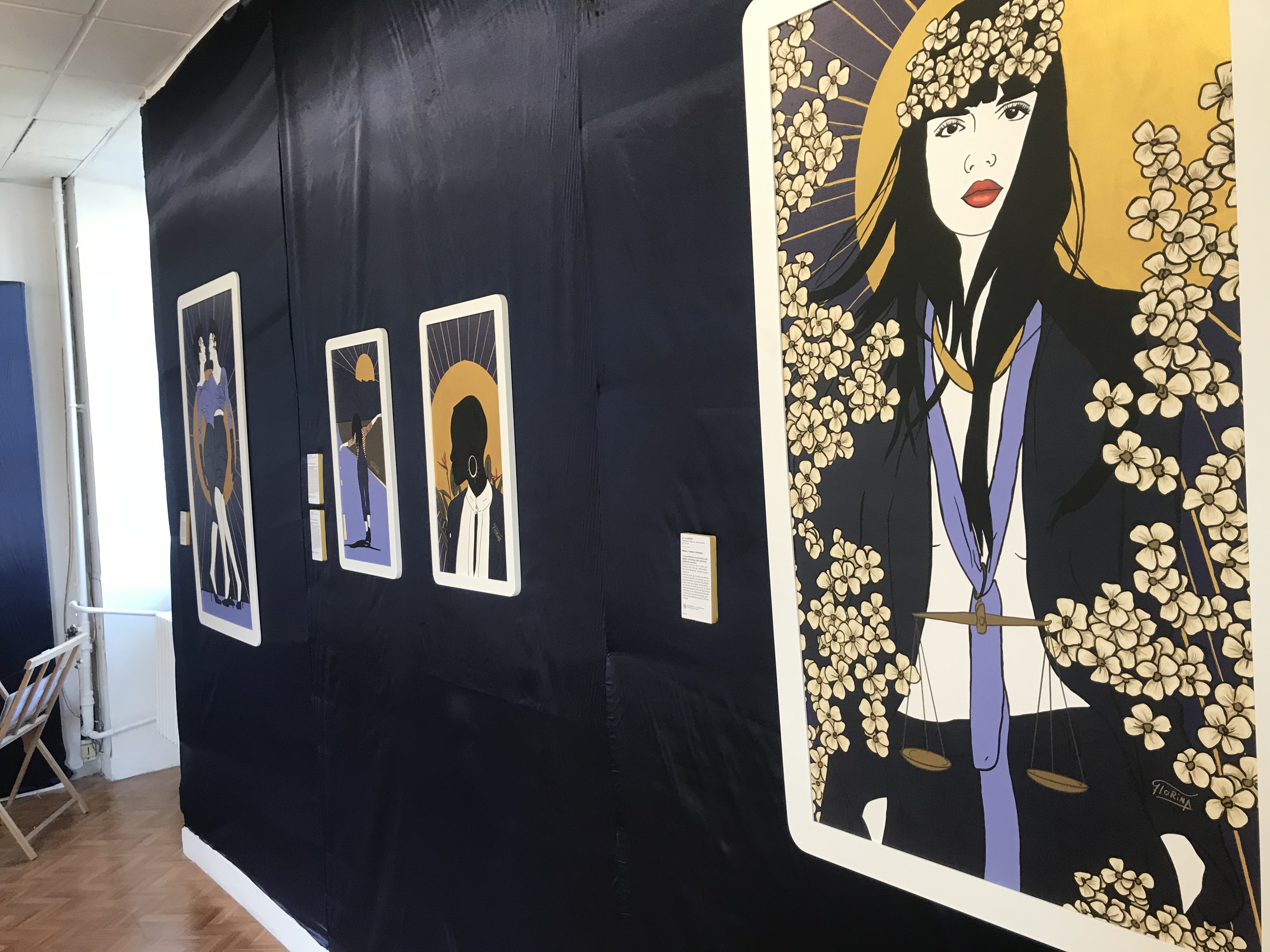 Exposition au fort Saint Laurent : Le tarot par Florina Aldo Perez