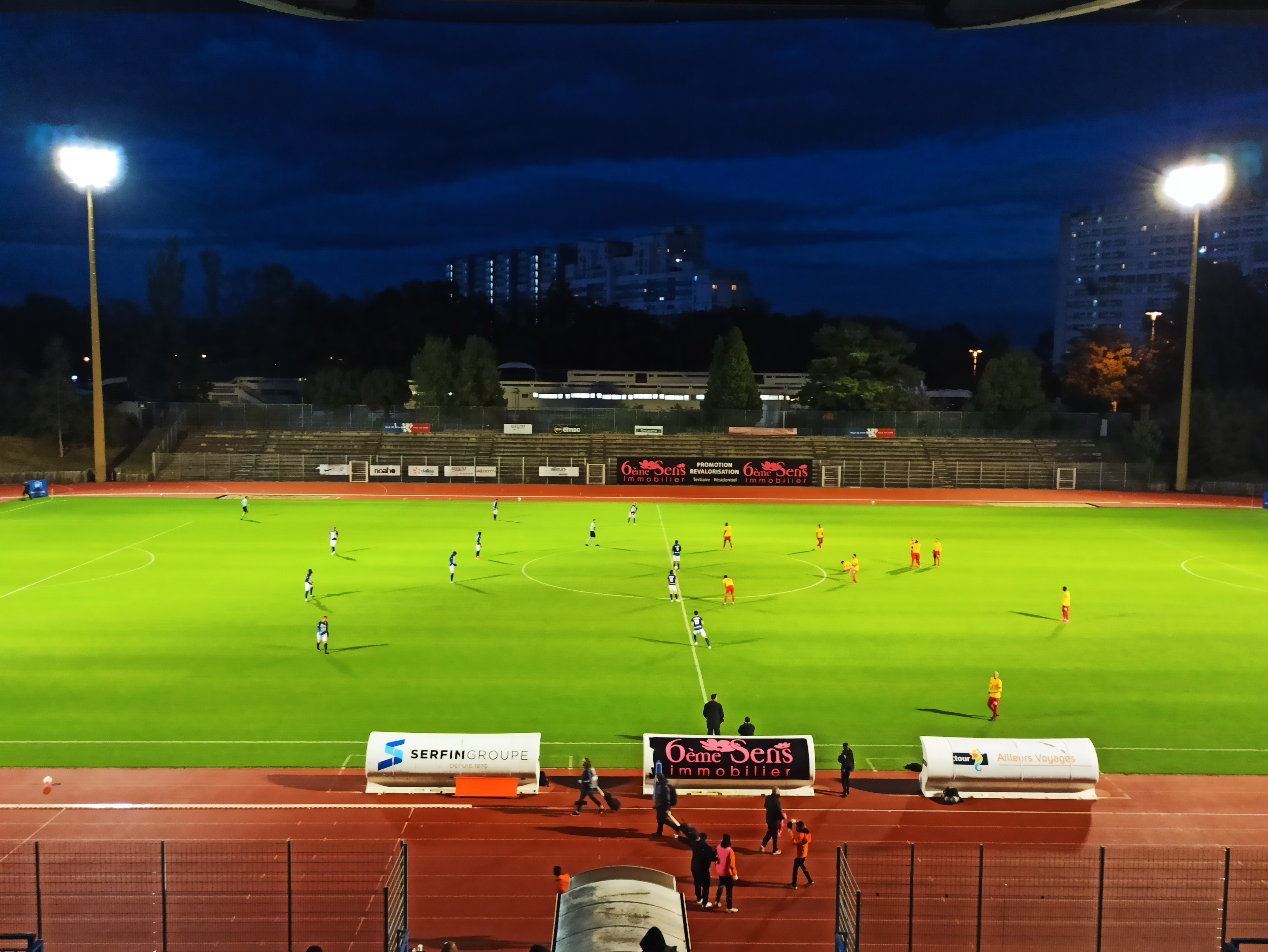 Le Sporting Club de Lyon reste coincé