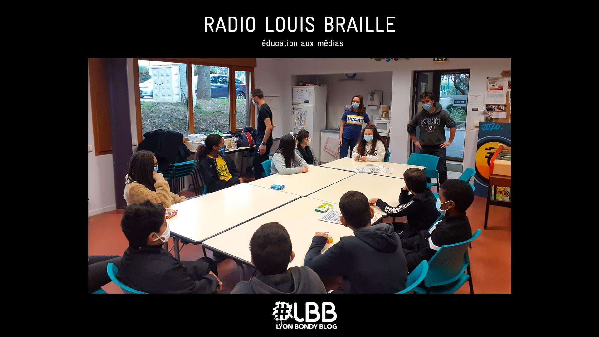 «Radio Louis Braille» : l'actualité vue par les jeunes du centre social Louis Braille