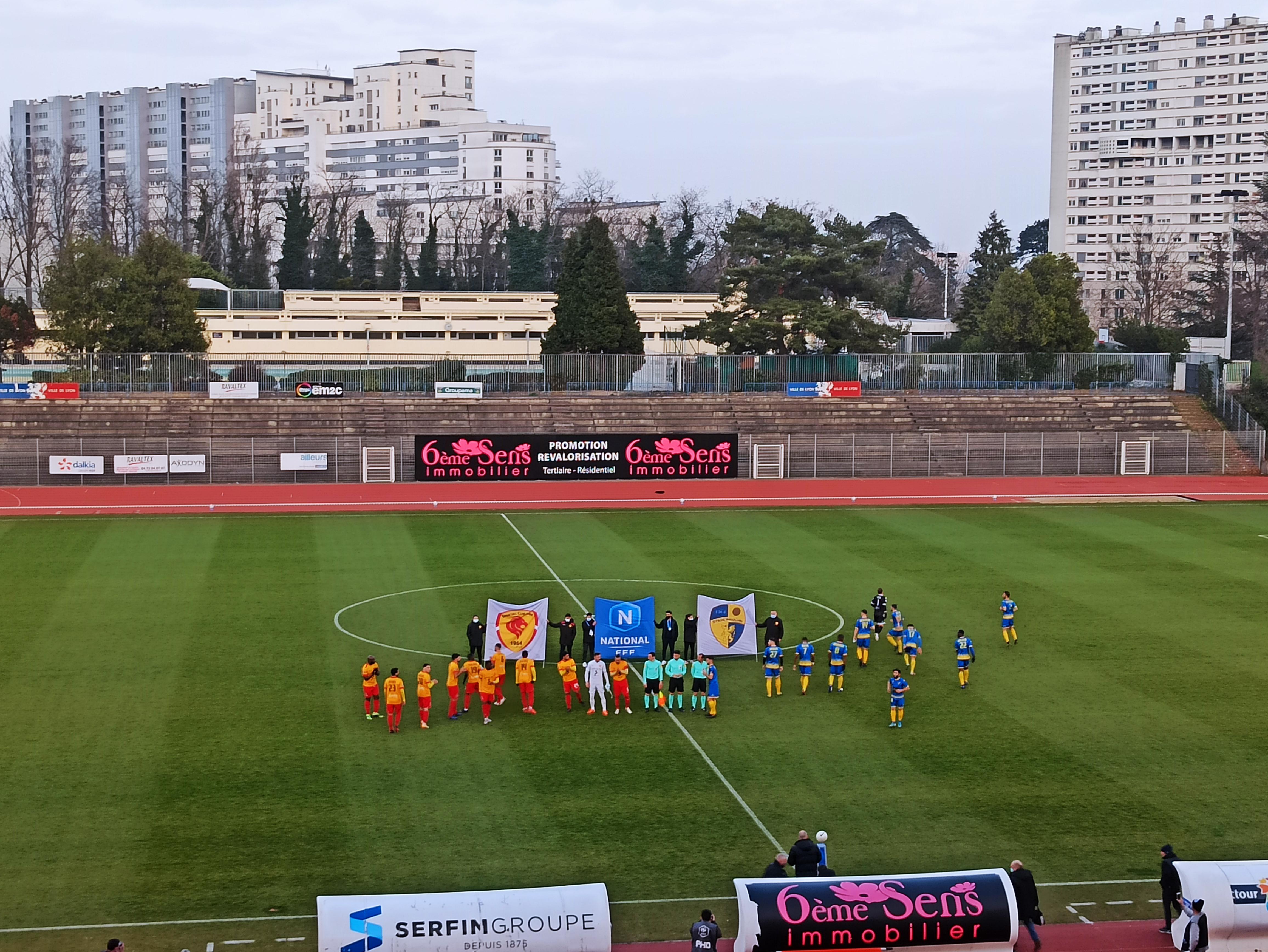 Un nul frustrant pour le Sporting Club de Lyon