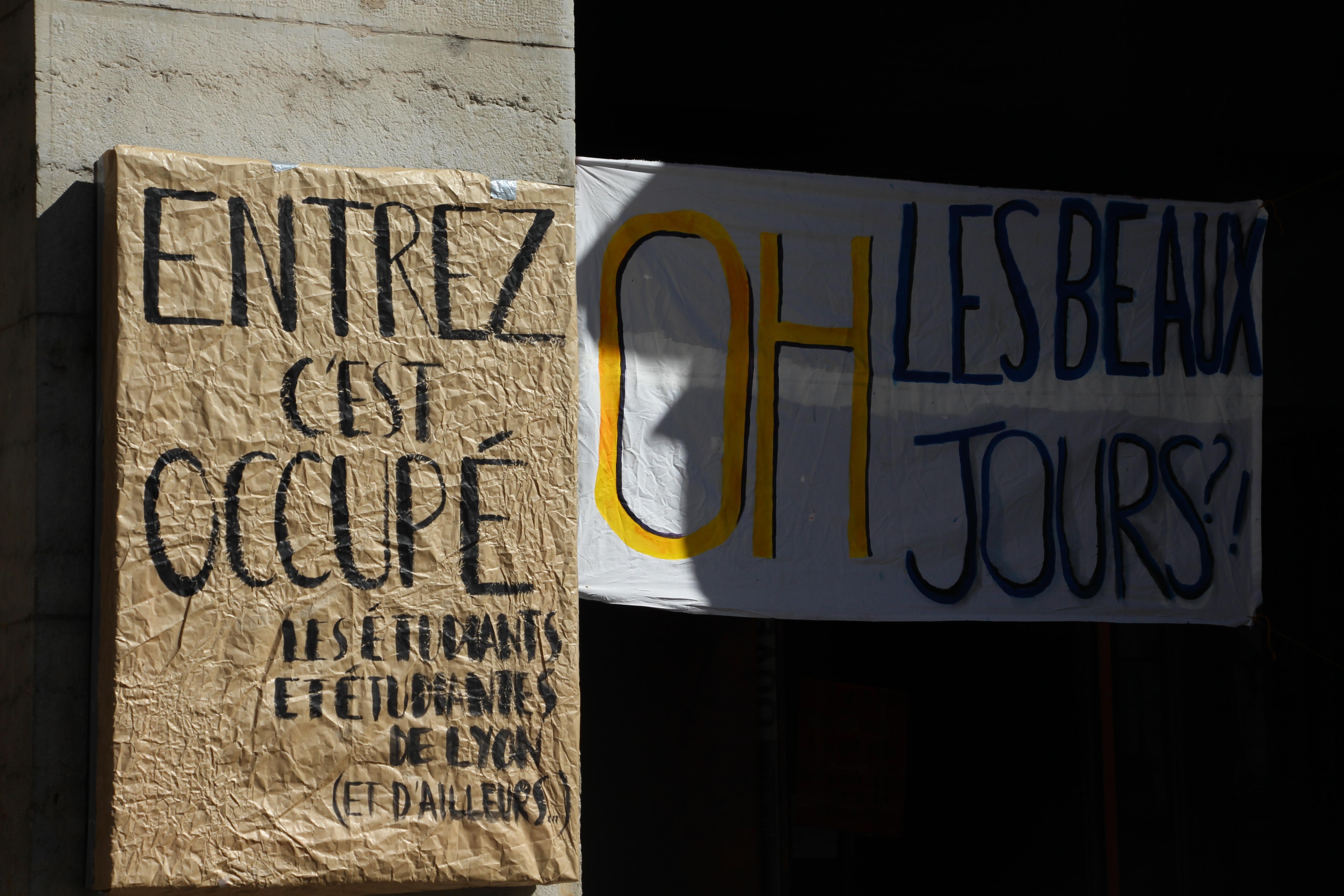 Mouvement #Occupons : de l'Odéon à l'Opéra