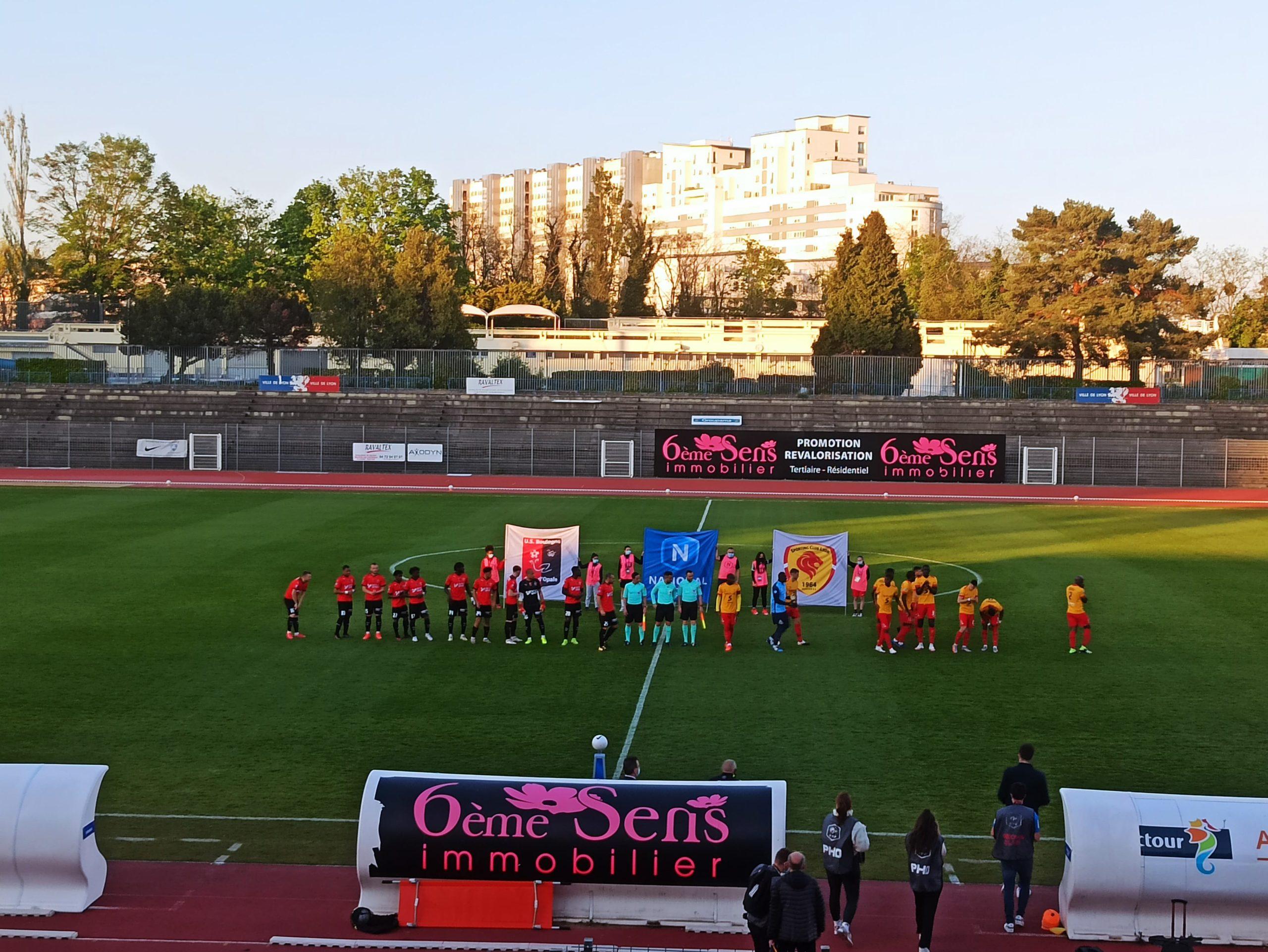 Le Sporting Club de Lyon accroche Boulogne