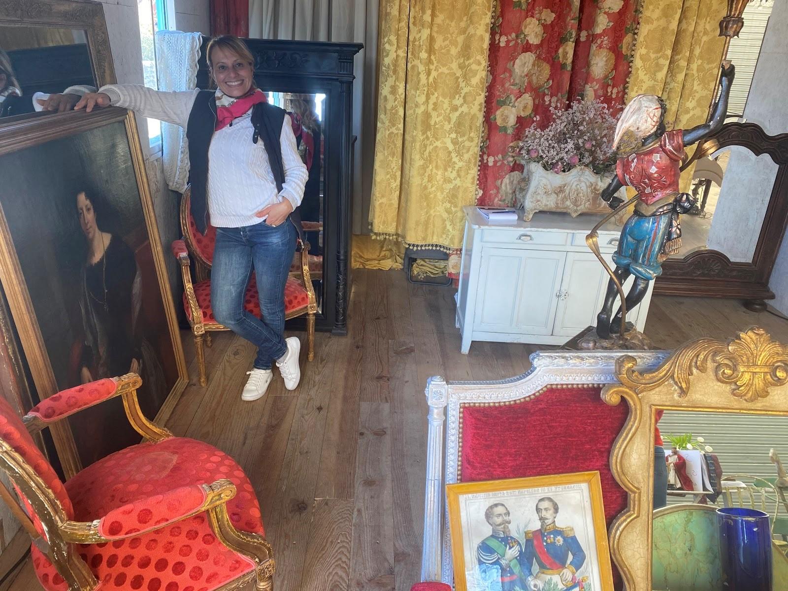 Portrait des Puces : Diana, la brocanteuse aux milles facettes