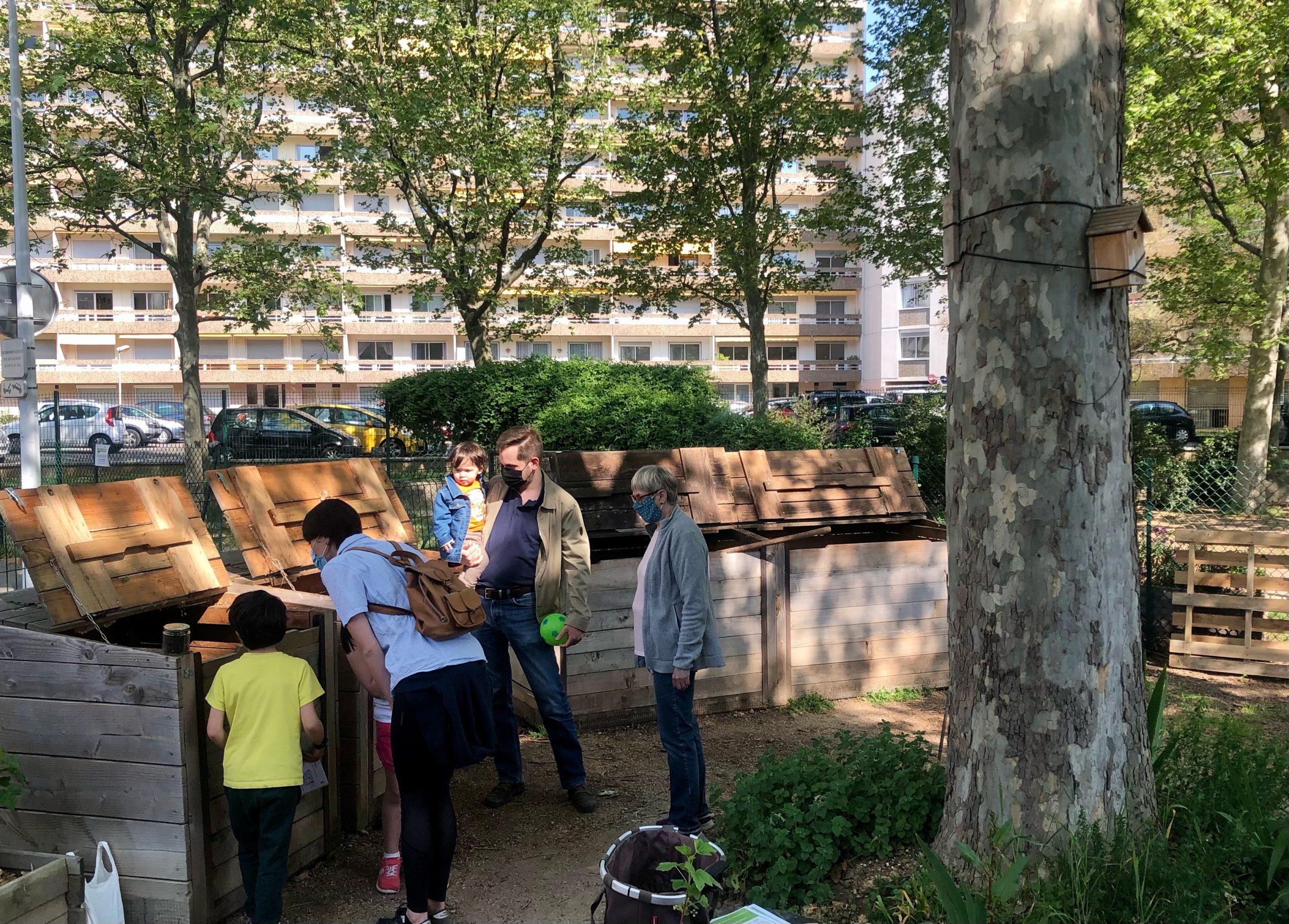 Jardin partagé à Monplaisir : un espace vert en milieu urbain