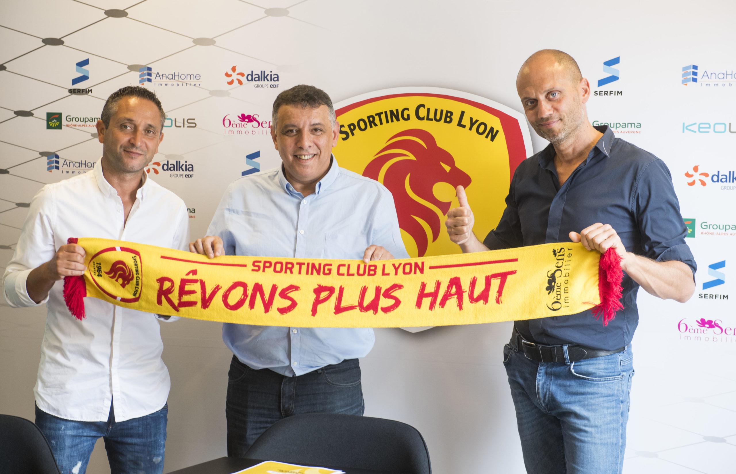 Le Sporting Club de Lyon annonce le départ du président Tria