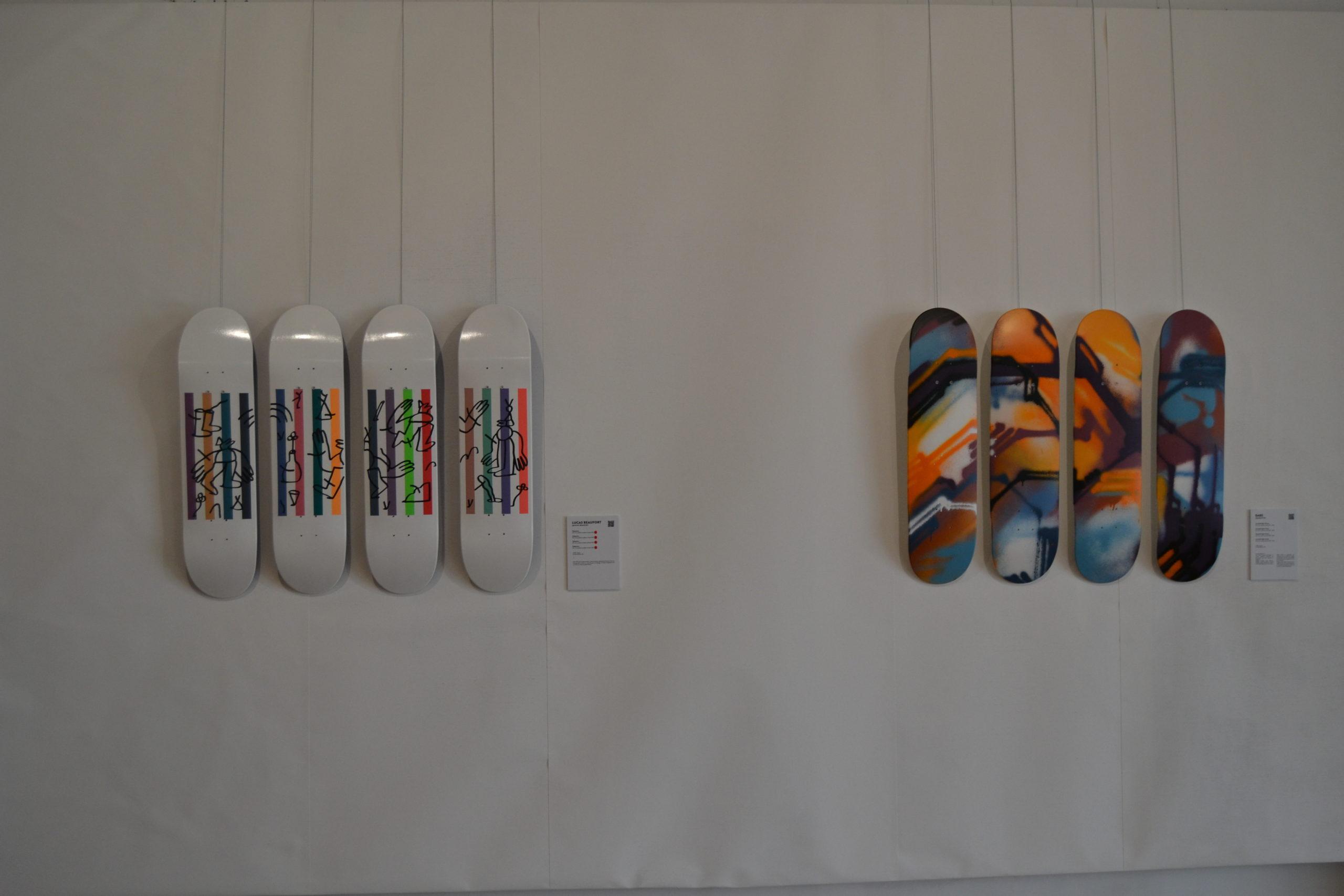 Pari réalisé pour l'exposition du Spraying Board