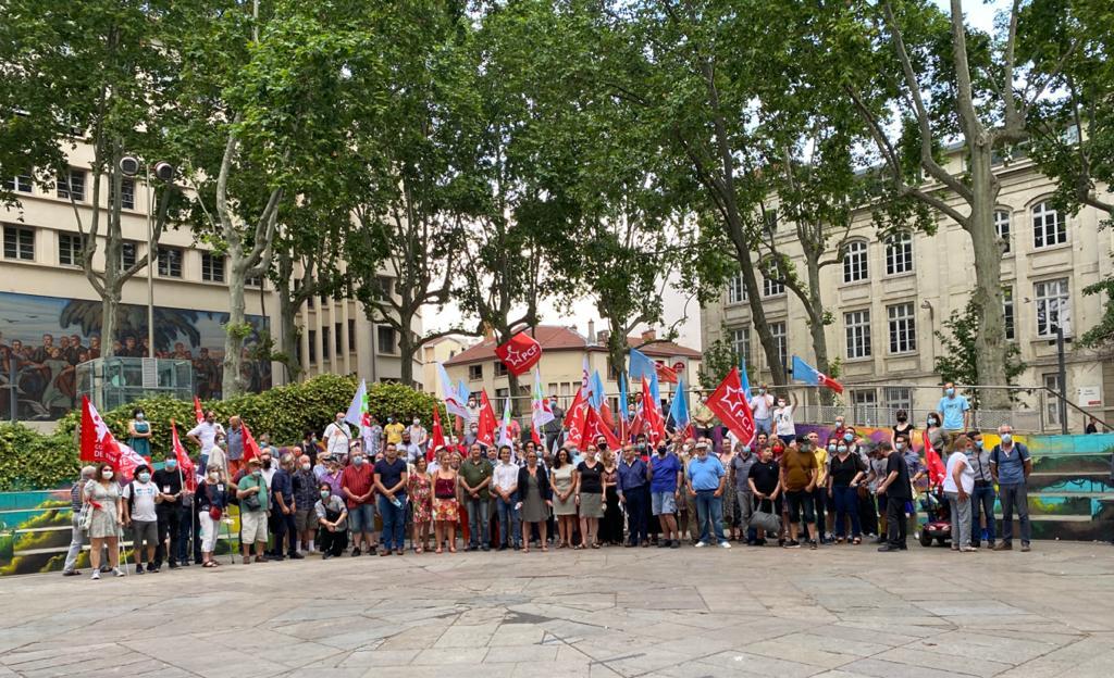 RÉGIONALES 2021 : Dernier meeting politique de la liste LFI-PCF