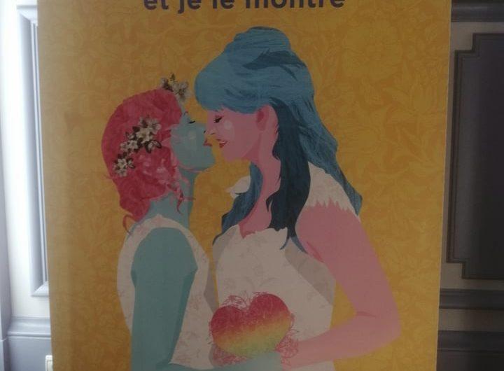 Lyon :Campagne de lutte contre les violences LGBTQI+.